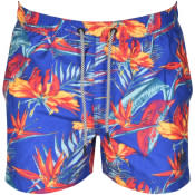 Product Image for Superdry Floral Beach Volley Swim Shorts Blue