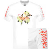 Product Image for adidas Originals Festivo Logo T Shirt White