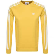 Product Image for adidas Originals 3 Stripes Sweatshirt Yellow