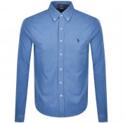 Product Image for Ralph Lauren Featherweight Mesh Shirt Blue