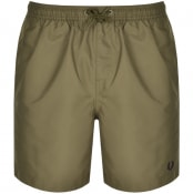Product Image for Fred Perry Textured Swim Shorts Green