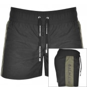 Product Image for Balmain Logo Swim Shorts Black