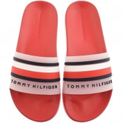 Product Image for Tommy Hilfiger Pool Sliders Red