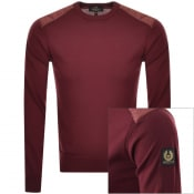 Product Image for Belstaff New Kerrigan Crew Neck Knit Jumper Red