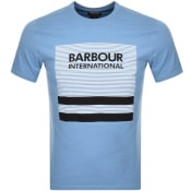 Product Image for Barbour International Control Logo T Shirt Blue