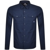 Product Image for Barbour Beacon Foundry Overshirt Jacket Navy