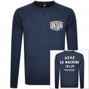 Product Image for Deus Ex Machina Crew Neck Ibiza Sweatshirt Navy