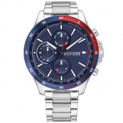 Product Image for Tommy Hilfiger 1791718 Chronograph Watch Silver