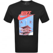 Product Image for Nike Air Logo Crew Neck T Shirt Black