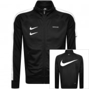 Product Image for Nike Full Zip Swoosh Track Sweatshirt Black