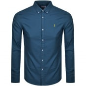 Product Image for Farah Vintage Brewer Shirt Blue