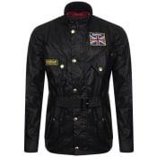 Product Image for Barbour International Union Jack Jacket Black