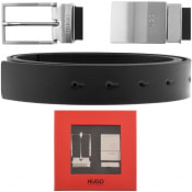 Product Image for Hugo Reversible Gora Belt Black