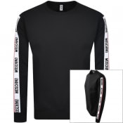 Product Image for Moschino Tape Logo Sweatshirt Black