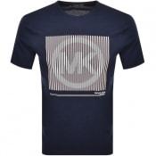 Product Image for Michael Kors Tonal Logo T Shirt Navy