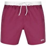 Product Image for BOSS Starfish Swim Shorts Purple