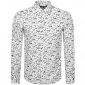 Product Image for Michael Kors Floral Long Sleeved Shirt White