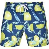 Product Image for BOSS Lemon Shark Swim Shorts Blue