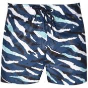 Product Image for BOSS Tigershark Camo Swim Shorts Blue