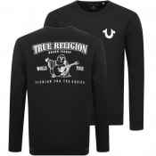 Product Image for True Religion Crew Neck Sweatshirt Black