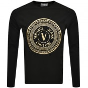 Product Image for Versace Jeans Couture Long Sleeve T Shirt Black