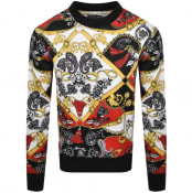 Product Image for Versace Jeans Couture Logo Sweatshirt Red