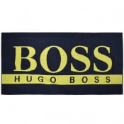 Product Image for BOSS Beach Towel Navy