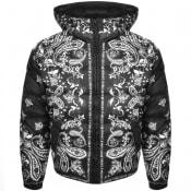 Product Image for Versace Jeans Couture Quilted Down Jacket Black