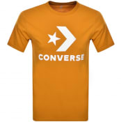Product Image for Converse Star Chevron Logo T Shirt Orange