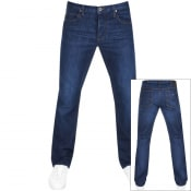 Product Image for Emporio Armani J21 Regular Fit Jeans Blue