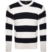 Product Image for Paul And Shark Crew Neck Knit Sweatshirt Cream