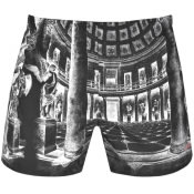 Product Image for HUGO Mower Swim Shorts Black