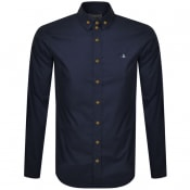 Product Image for Vivienne Westwood Krall Long Sleeved Shirt Navy