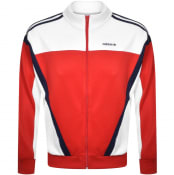 Product Image for adidas Originals Classics Full Zip Track Top Red
