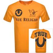 Product Image for True Religion Buddha Logo T Shirt Orange