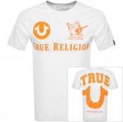 Product Image for True Religion Buddha Logo T Shirt White