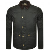 Product Image for Barbour Reelin Wax Jacket Green