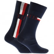Product Image for Tommy Hilfiger 2 Pack Iconic Socks Navy