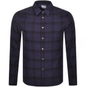 Product Image for PS By Paul Smith Long Sleeved Check Shirt Navy