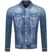 Product Image for Replay Denim Jacket Blue