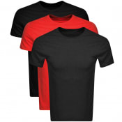 Product Image for Ralph Lauren 3 Pack Crew Neck T Shirts Black