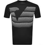 Product Image for Emporio Armani Crew Neck Logo T Shirt Black