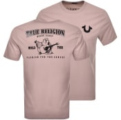 Product Image for True Religion Buddha Logo T Shirt Pink