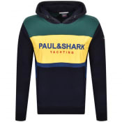 Product Image for Paul And Shark Yachting Pullover Hoodie Navy