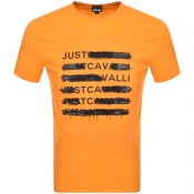 Product Image for Just Cavalli Logo T Shirt Orange