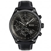 Product Image for BOSS HUGO BOSS 1513474 Grand Prix Watch Black