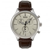 Product Image for BOSS HUGO BOSS Companion Watch Brown