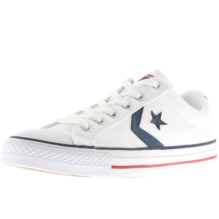 pretty cheap biggest discount size 40 Converse Cons Star Player OX Trainers White | Mainline ...