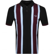 Product Image for Fred Perry Short Sleeve Polo T Shirt Black