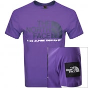 Product Image for The North Face Fine 2 T Shirt Purple